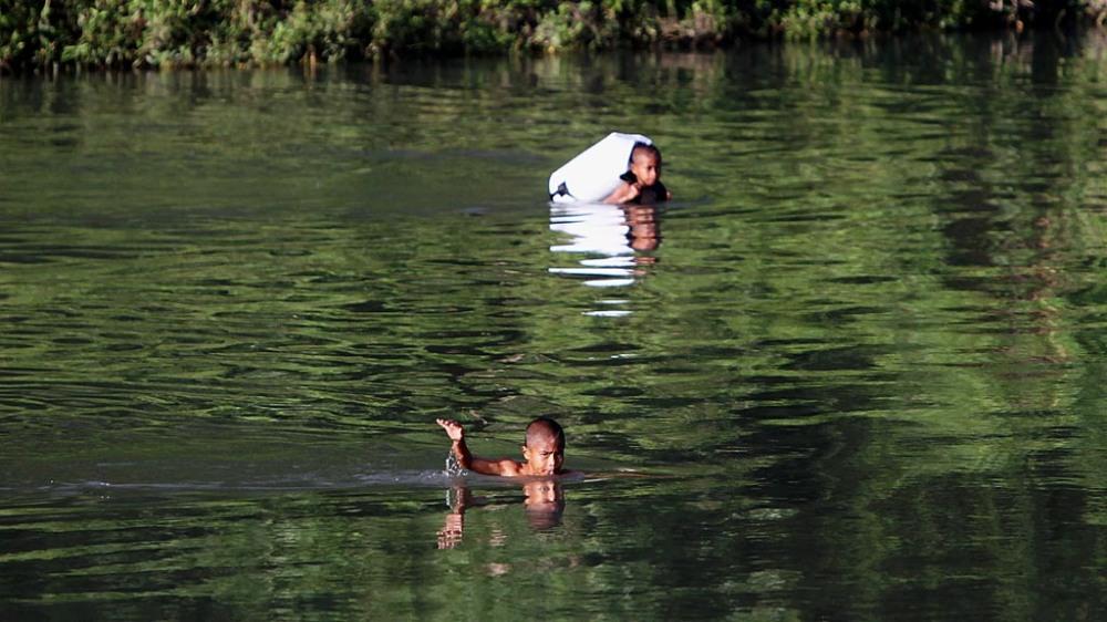 Berenang Menyeberang