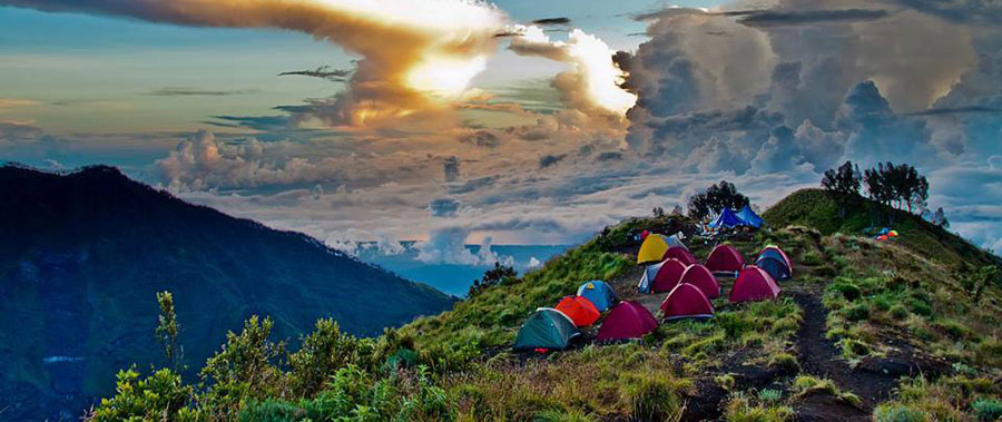 Mount Rinjani Volcano Hike Eruption