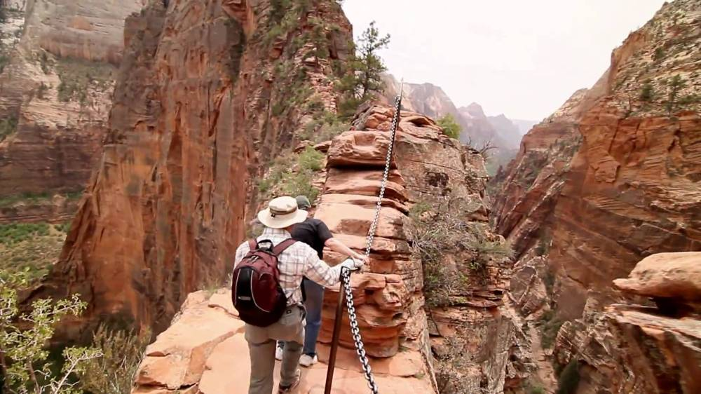 Zion Angels Landing Trail Hike